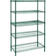 "RL672 EPOXY Shelving (STARTER/5 shelf) 48""Wx24""Dx74""H"