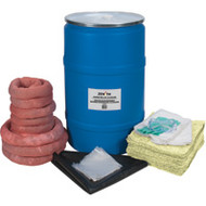 SEJ270 Spill Kits (Eco-friendly): Hazmat (55-gal cap)