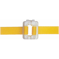 "PA500 Plastic Buckles For 3/8"" strap 2000/box"