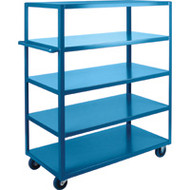 "MB475 HD Shelf Carts 5 shelves 24""Wx36""Dx61""H"