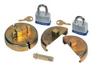 DC290 Plastic Drum Locks Keyed different