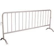 SEE395 Interlocking Barricades Galvanized 8.5'L