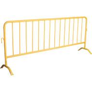 SEE396 Interlocking Barricades Safety YLW 8.5'L