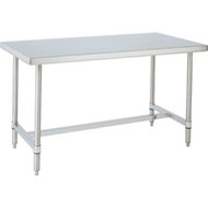 "FI393 Workbenches (SS/H-Frame) 96""Wx30""Dx34""H"