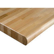 "FH762 HD Workbench Tops (hardwood/bullnose) 48""Wx120""L"