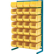 "CB656 Racks YELLOW Bins 36""Wx12""Dx61""H"