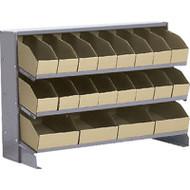 "CB318 SS Racks/Corrugated Bins 32-7/8""Wx12-1/8""Dx21.5""H"