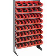 "CB326 Racks RED Bins 33-1/2""Wx12-1/4""Dx61""H"""