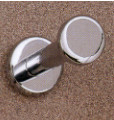 Zinc Coat Knob 196-269 - Polished Chrome or Satin Chrome