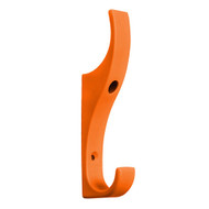 Heavy Duty Double Prong Industrial Nylon Coat Hook 151-627 - Orange