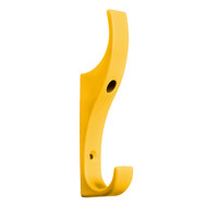 Heavy Duty Double Prong Industrial Nylon Coat Hook 151-628 - Yellow
