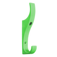 Heavy Duty Double Prong Industrial Nylon Coat Hook 151-630 - Light Green