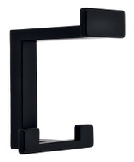 Zinc Alloy Triple Prong Hat and Coat Hook 232-412 - Matte Black Finish