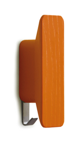 Painted Wood and Metal Coat Hook (Set of 2) 600-301 - 12 Finish Options