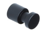 Steel Coat Peg 459-418 - Matte Black