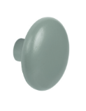 Round Wood Painted Hanger Knob 25 mm Long 460-053- Light Grey Pantone