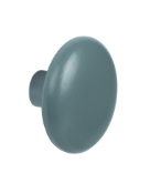 Round Wood Painted Hanger Knob 25 mm Long 460-054- Dark Grey Pantone