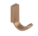 Single Prong Coat Hook 460-047 - Matte Gold