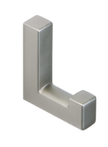 Single Prong Coat Hook 459-412 - Satin Nickel