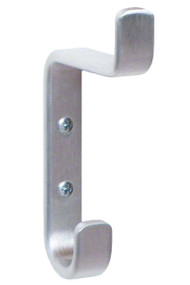 Heavy Duty Double Prong Aluminum Coat Hook 171-219