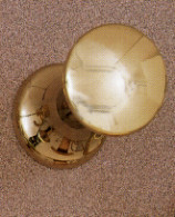 Aluminum Coat Knob 196-276 - Multiple Finishes