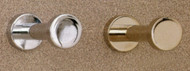 Brass Coat Knob 196-232 - Multiple Finish Options