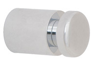 Brass Coat Knob 196-236 - Polished Chrome or Polished Brass Finish