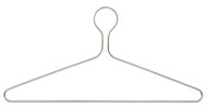 Chrome Closed Loop Coat Hanger 231-702 - 8 Pack