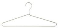 Chrome Open Hook Coat Hanger 231-701 - 6 Pack