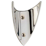 Zinc Double Prong Coat Hook 242-793 - Bright Chrome Finish