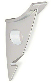 Zinc Double Prong Hat and Hanger Coat Hook 242-483 Bright Chrome Finish