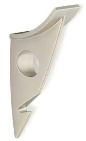 Zinc Double Prong Hat and Hanger Coat Hook 242-484 - Matte Nickel Finish