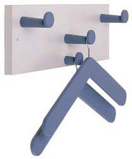 Laminate Wall-Mounted Coat Hanger Hook Panel 236-611