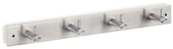 Stainless Steel Wall-Mounted Coat Hook Panel 241-758