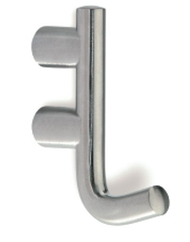 Stainless Steel Single Prong Coat Hook 241-401