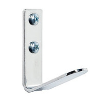 Steel Single Prong Coat Hook 231-714 - Chrome Finish