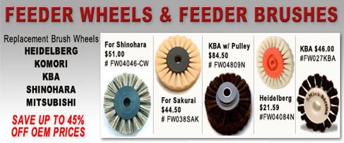 Feeder Wheels & Feeder Brush