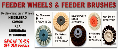 Feeder Wheels & Feeder Brush