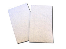 "Flat Poly Fibrous  Filters for Technotrans, Pkg (12) -   28"" x 10"" x 3/4"""
