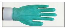 Jomac Heavy-Duty Disposable Green Vinyl Gloves