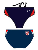 Nike Poly Color Surge Brief Male - Eastmoor w logo