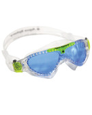 Vista Mask Kid Blue-Clear-Lime