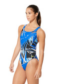 Speedo Shattered Palm Superpro Back Female Hurricanes