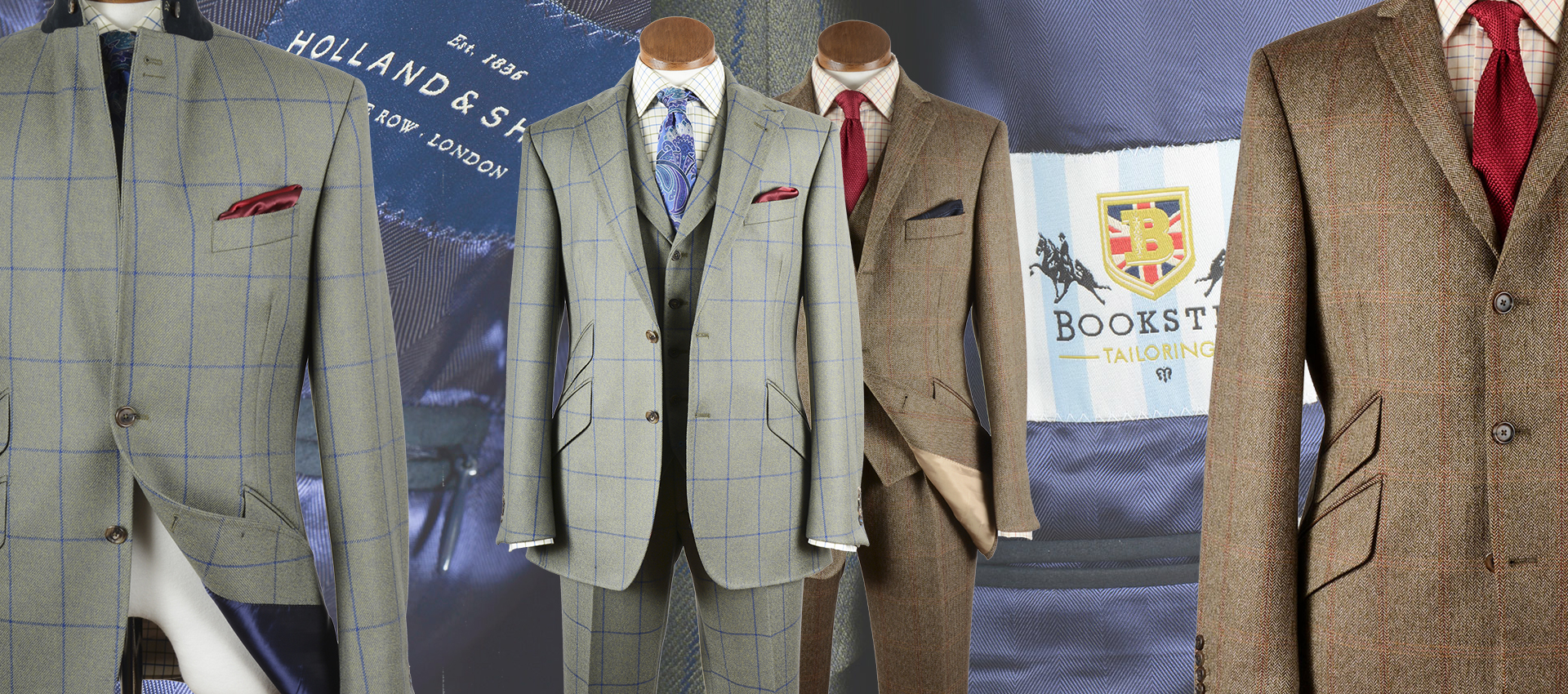 Tweed Jackets and Suits