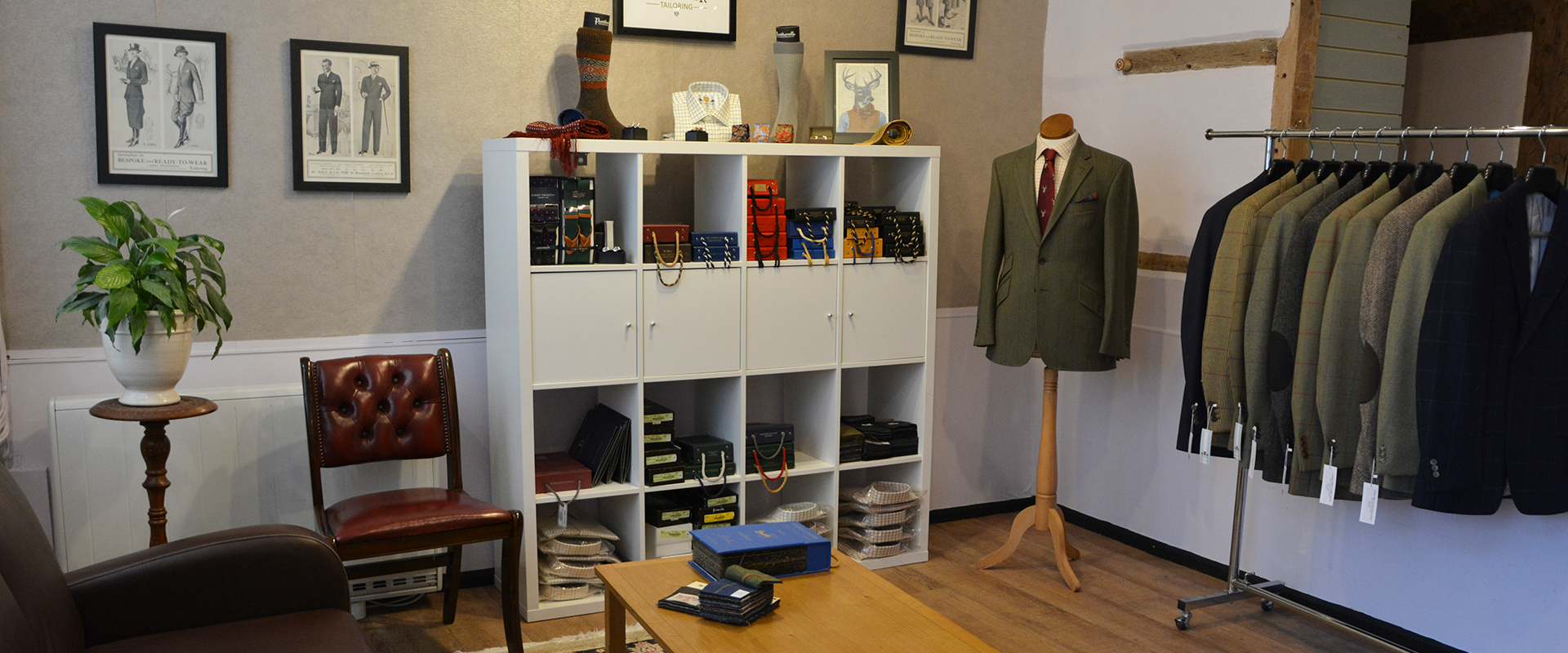 Bookster Tailoring Showroom