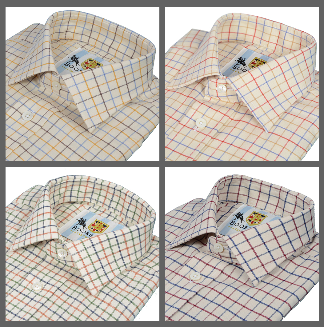 Bookster Tattersall Check Shirts