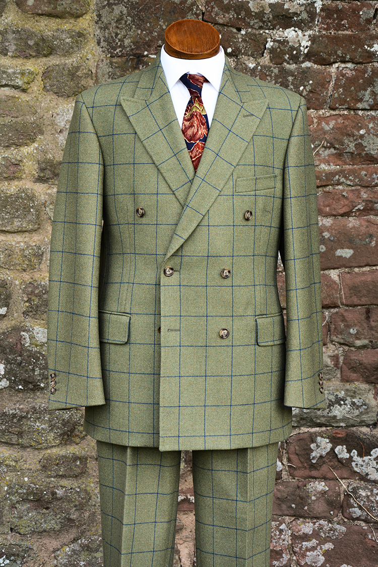 Double Breasted Grosvenor Tweed Suit