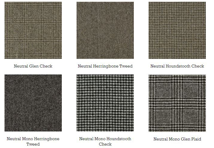 Abraham Moon Neutral Tweeds