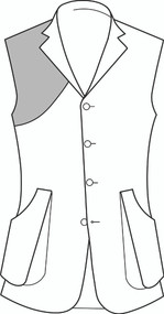 Order Shooting Vest in Suiting - from