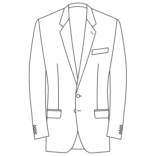 Made to Measure Single Breasted Classic Jacket - Coating
